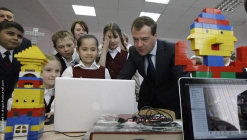 Школа в Радужном готовится к визиту нового премьер-министра
