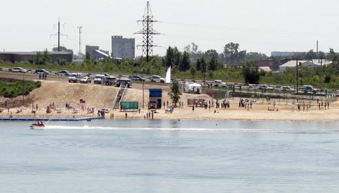 В Тамбове открыли пляж в Ласках