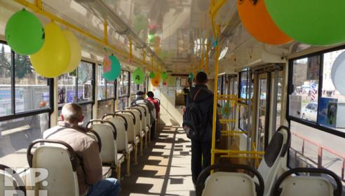 Тамбовские автобусы превратятся в картинную галерею