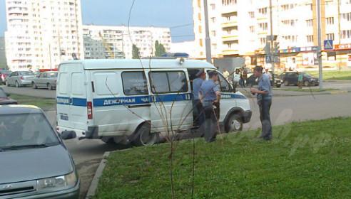 На место выехали сотрудники полиции