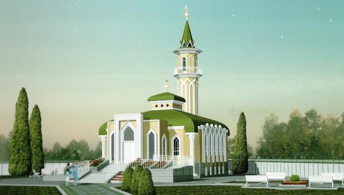 Проект новой мечети в Тамбове