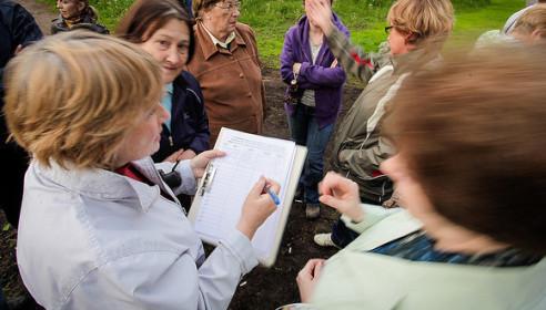 Сбор подписей за создание парка в мкрМосковский