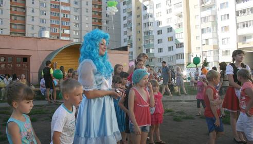 Праздник хороших соседей в микрорайоне Московский, Тамбов