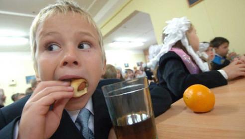 Горячее питание в школе. Фото gorka.ru