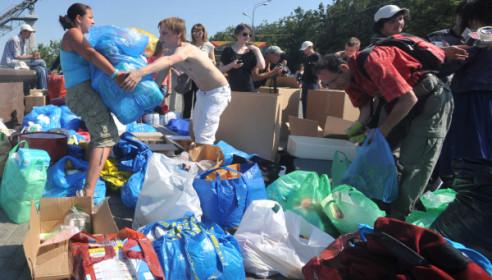 В Тамбове открылся пункт гуманитарной помощи для жителей Кубани