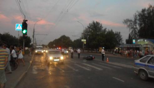 В Тамбове десантник сбил пешеходов. Фото Оnlinetambov.ru