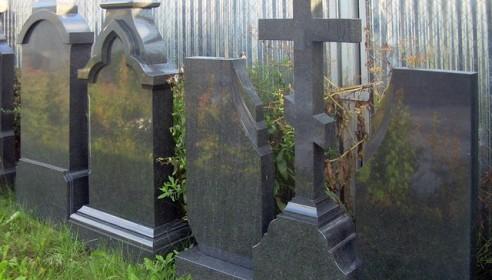 """В """"Радужном"""" из бюро ритуальных услуг украли могильный крест"""