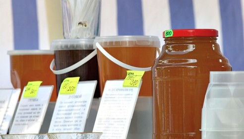 Ярмарка меда в Тамбове
