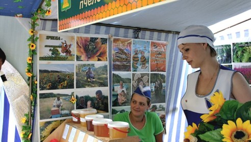 Ярмарка меда - 2012 в Тамбове