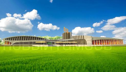 Центр единоборств в Тамбове (эскиз)