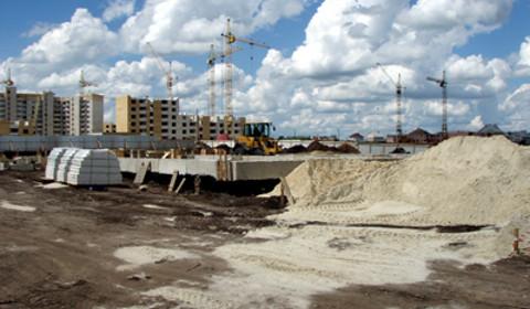 Строительство пожарного депо на Агапкина, 9