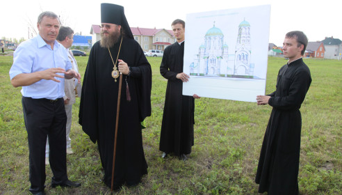 Храм в честь преподобного Серафима Саровского в Радужном начнут строить через неделю. Фото Onlinetambov.ru