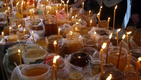Православные тамбовчане отмечают Медовый Спас