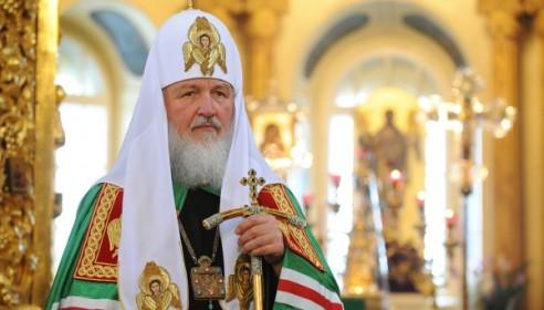 Патриарх Кирилл. Фото: spastv.ru