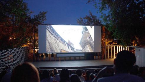 Летний кинотеатр для жителей микрорайона переедет в школу