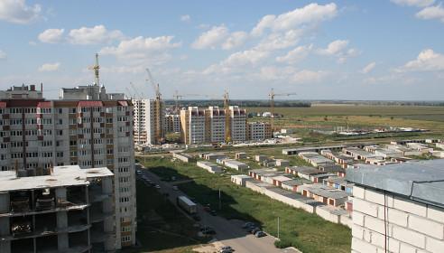 Строительство микрорайона Уютный