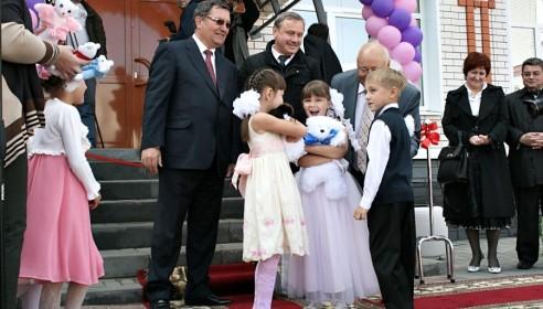 """Открытие детского садика """"Умка"""""""