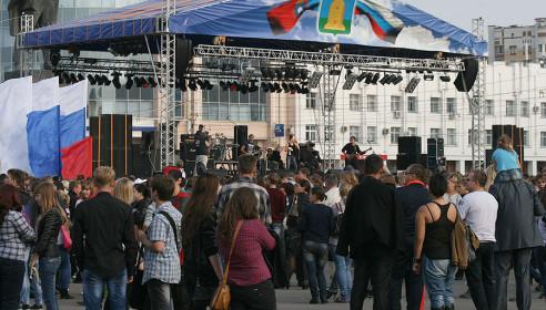 Рок-концерт в Тамбове, 15 сентября 2012