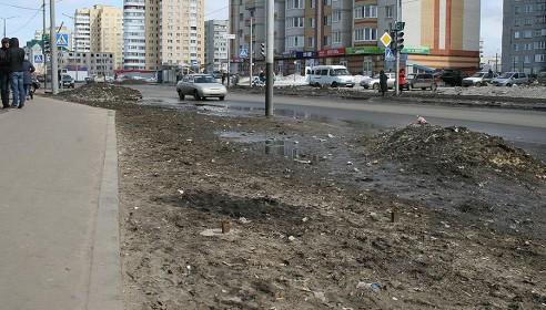Бобров пообещал этой зимой избавить тамбовчан от грязного снега