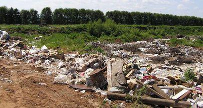 На северо-западе Тамбова завалили мусором Татарский вал