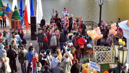 Тамбовчане свяжут на Покровской ярмарке огромной носок