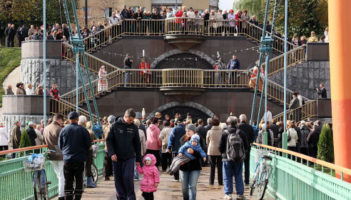 В Тамбове появилась триумфальная лестница за 15 млн рублей. Фото Михаила Карасева.