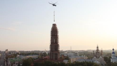 На колокольне Казанского монастыря установят трехметровые куранты