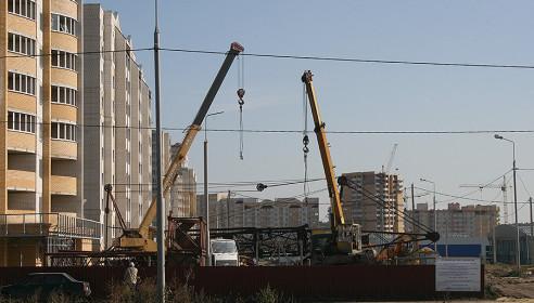 Строительство микрорайона Московский в Тамбове