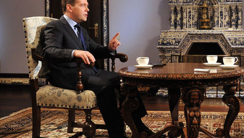 Дмитрий Медведев Фото: РИА Новости