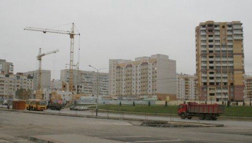 Микрорайон Московский в Тамбове