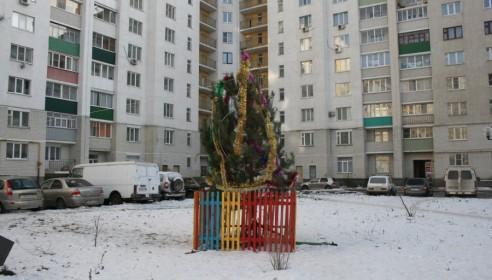 Завтра в микрорайоне Московский состоится новогодняя ёлка