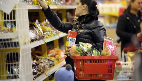 Утверждена новая потребительская корзина доя россиян: меньше хлеба, больше мяса