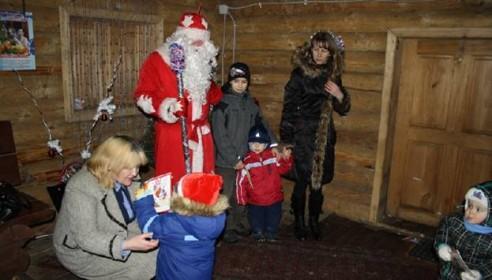 Избушка Деда Мороза начнет работать уже в эти выходные