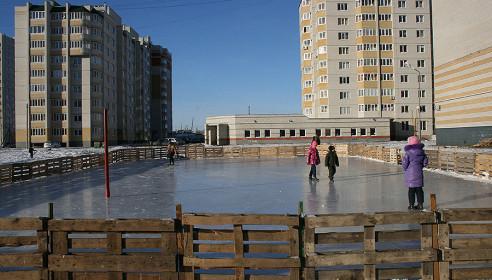 Каток в мкр. Московский в Тамбове