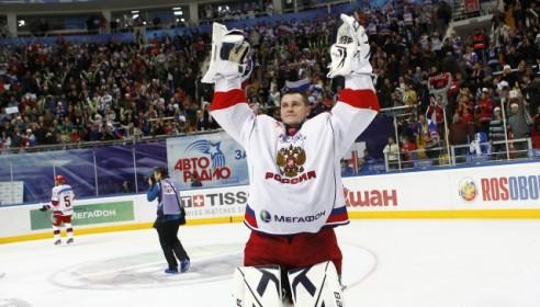 Сборная России по хоккею выиграла Кубок первого канала. Фото: ИТАР-ТАСС