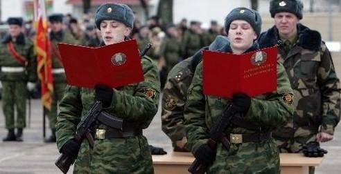 Из текста военной присяги хотят убрать слово «клянусь»