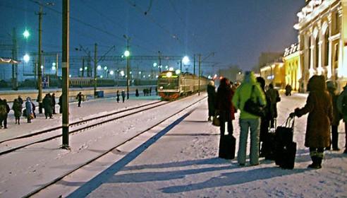 В новогодние каникулы через Тамбов пустят 40 дополнительных поездов