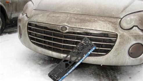 В России хотят ужесточить наказание за кражу автомобильных номеров