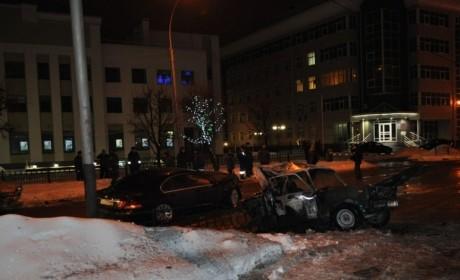 Авария в Тамбове 19 января 2013 года. Фото 68.mvd.ru