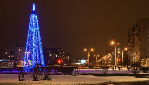 Новый год в Тамбове. Фото Алексей Выгузов.