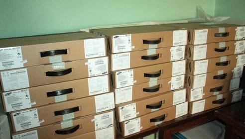 Ноутбуки для Пушкинской библиотеки