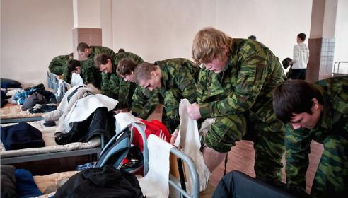 Российская армия откажется от портянок в 2013 году