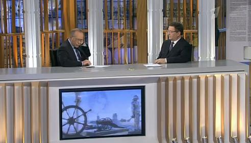 Губернатор Бетин принял участие в интеллектуальном шоу на Первом канале