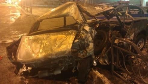 Авария в Тамбове 19 января 2013 года