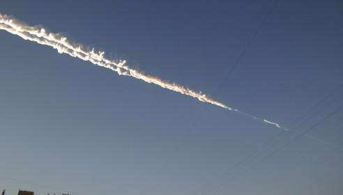 Метеорит упал под Челябинском