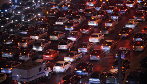 За 8 лет количество автомобилей в России увеличилось почти в 1,5 раза