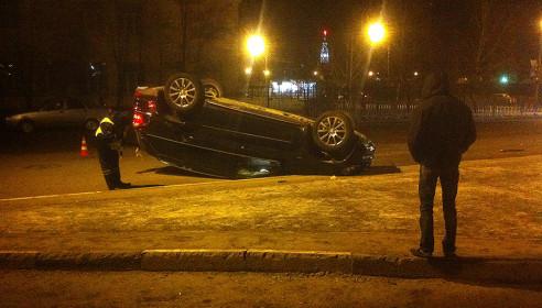 Авария в Тамбове 13 февраля 2013 года. Фото tamboff.ru
