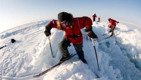 Два тамбовских флага установят в апреле на Северном полюсе