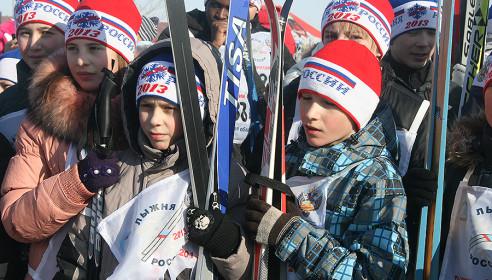 Лыжня России - 2013 в Тамбове