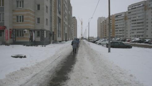 Улица Ореховая в Тамбове